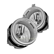 For Dodge Charger Challenger Avenger Fog Lights, Replacement Clear Driving Lamps