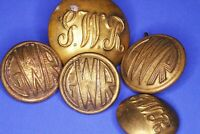 Great Western Railway GWR buttons, 16-24mm *[20841]