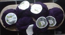 Austermann Woll-Cotton 340 gr 50% Schurwolle 50% Baumwolle brombeer West Germany