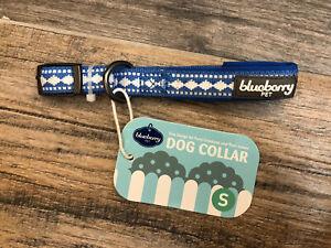 Blueberry Dog Collar Blue Diamond S