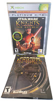 Star Wars Knights Old Republic Complete W Manual Original Xbox Game
