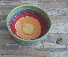 "Bowl Feeding Bowl Ceramic Plate for Dog "" Ovum "" Multicolour"
