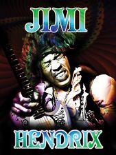 Jimi Hendrix Metal Sign Image