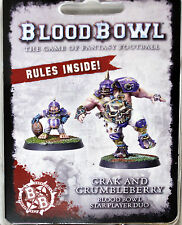 Forgeworld 2017 Warhammer mundo Blood Bowl Grak & crumbleberry evento sólo