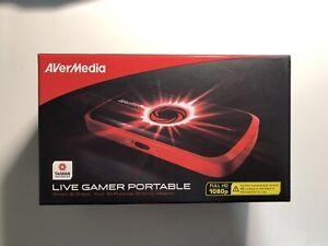 AverMedia Live Gamer Portable C875 - 1080p Capturadora Portátil - Negro/Rojo