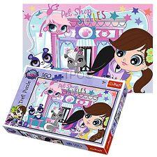 Trefl 160 Pièce Enfants Filles Littlest Pet Shop Roger Baxter Blythe Puzzle