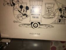 HALLMARK DISNEY SPECIAL EDITION MICKEY MINNIE & MORE CAMPER TRAILER FIGURINE