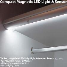 1 X Rechargeable Magnétique Bande Lumière Led & Capteur Mouvement – Placard /