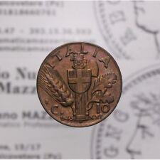 10 Centesimi 1943 XXI Impero (Regno Italia Vitt Em III) FDC LOT1591