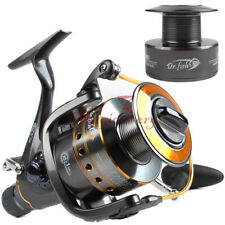 DRFISH Spinning Reel Baitfeeder, 2 Spools,11BB, Saltwater Spinning Fishing Reel