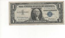 1957 One $1 Dollar Silver Certificate Notes G - VG