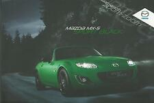 Mazda MX5 2.0 Sport Black Special Edition UK Market Brochure 2011 Mint Condition
