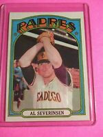 1972 Topps #274 Al Severinsen San Diego Padres HIGH GRADE Centered MINT GEM?