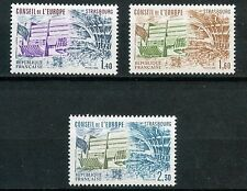 STAMP TIMBRE FRANCE NEUF SERVICE N ° 65/67 ** CONSEIL DE L'EUROPE / ARCHITECTURE