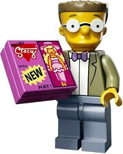 The Simpsons 2 Lego collectible minifig Waylon Smithers, Jr. + stacy doll tile