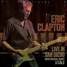 ERIC CLAPTON - LIVE IN SAN DIEGO - 2CD NEW SEALED 2016 - JJ CALE
