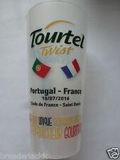 TAZZA Bicchiere potabile Cup Beaker-UEFA EURO 2016 finale Portogallo-Francia 1:0