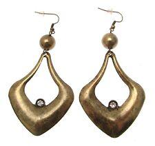 Drop Earrings Statement Earrings Brass Earrings Chunky Earrings 113689