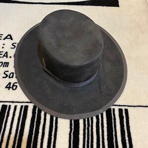 Nick Fouquet Matchstick Beaver Felt Fur Hat - Stone