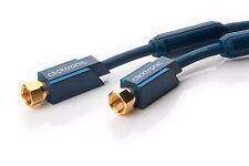 2,00m Clicktronic Casual SAT F-Plug Cavo per antenna 2,0m 2m