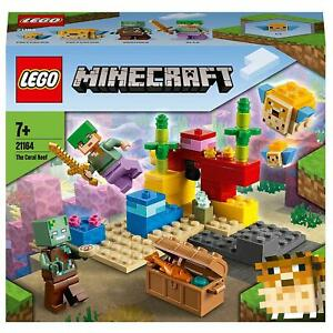 Lego Minecraft The Coral Reef Boys Girls Childrens Toys