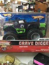 Hot Wheels Monster Jam Grave Digger radio control car by Mattel