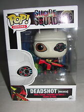 Funko Pop Heroes DC Comics Suicide Squad Movie Masked Deadshot Vinyl Figure-New