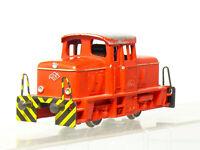Fleischmann 1306 H0 Dc Para Manualidades, Locomotora Werksbahn Mv 9 ,Roja, Con