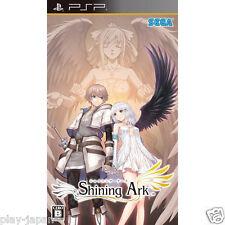 Used PSP Shining Ark Japan import