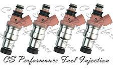OEM DENSO Carburante Iniettori Set (4) 23250-16070 Per Toyota Corolla AE82