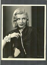 EXQUISITE GINGER ROGERS PORTRAIT BY MIEHLE - 1937 SHALL WE DANCE - WITH ASTAIRE