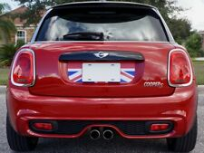 Mini Cooper 2014-Present Trunk Boot Graphic  Red White Blue English Flag Decal
