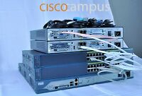 Cisco CCNET CCNA CCNP SECURITY ROUTING AND SWITCHING LAB3x1841 IOS 15.1T2x 2950