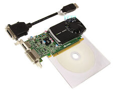 Nvidia Quadro 400 Graphics Video Card 512 Mb DDR3 PCIe DVI / DisplayPort