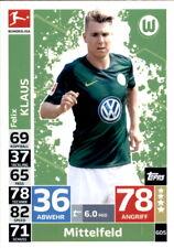 Topps Match Attax Extra 18/19 605 - Felix Klaus