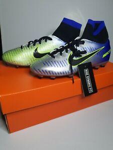 Nike Jr Mercurial Victory DF NJR FG Football Boots 921486 407 Size 4 Kids
