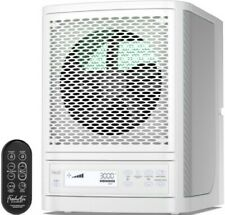 FRESH AIR WHITE  PURIFIER ALPINE LIVING AIR  ECOQUEST VOLLARA OZONE HEPA IONIZER