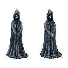Lit Ghoulish Figures (set of 2) Figurine Dept 56 Halloween Village Accessory