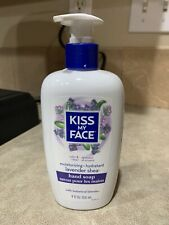 Kiss My Face Hand Soap Moisturizing Lavender Shea Aloe Olive Oil Vegan