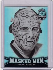 GERRY CHEEVERS 16/17 Leaf Masked Men Metal Insert Card #11 Silver Prismatic Card