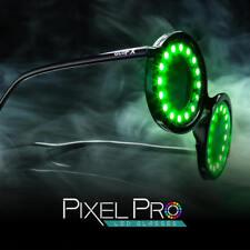 GloFX Pixel Pro LED Glasses 350 Multi-color Patterns Sharp Intense Led Lights