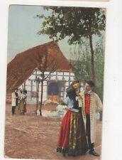 Schaumburg Lippesche Landestrachten 1917 Postcard Germany 398a