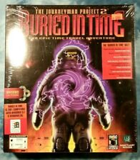 The Journeyman Project 2: Buried in Time PC Sealed Big Box NIB CD-ROM 1995 Rare