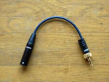 Adapter Shure WH20TQG auf Sennheiser EW SK 100 300 500, freePORT SK 2, XSW SK 20