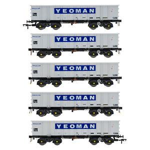 Accurascale ACC2110-YEO1 PTA/JTA+JUA Bogie Tippler Pack Yeoman [Procor] Outer