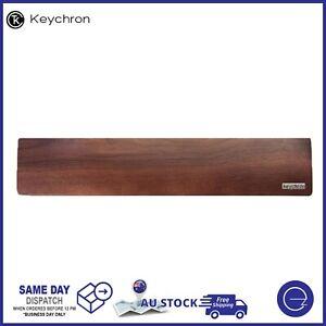 Keychron K2 / K6 Walnut Wood Palm Rest Wrist Rest Pad 317 x 80 x 15mm