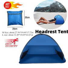 Outsunny Portable Automatic Pop Up Family Beach Tent Camping Sun Shade Blue