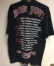 "Bon Jovi Shirt ""Lost Highway"" Gr. L, Europatour 2008 ! Original und NEU ! VIP"
