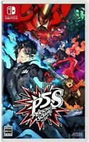 NINTENDO SWITCH Persona 5 Scramble The Phantom Strikers Game soft Only japan F/S