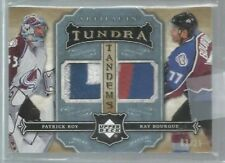 2007-08 Artifacts Tundra Tandems Patch Icy Blue #TTRB Roy/Bourque /25 (ref38723
